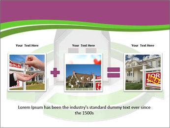 Green House Model PowerPoint Templates - Slide 22