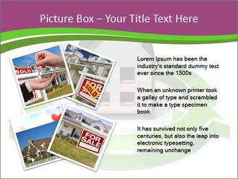 Green House Model PowerPoint Templates - Slide 23