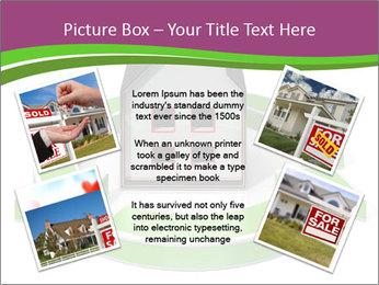 Green House Model PowerPoint Templates - Slide 24