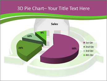 Green House Model PowerPoint Templates - Slide 35