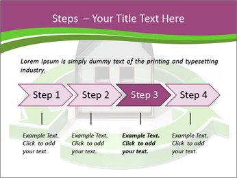 Green House Model PowerPoint Templates - Slide 4