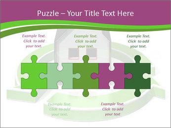 Green House Model PowerPoint Templates - Slide 41