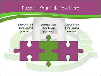 Green House Model PowerPoint Templates - Slide 42