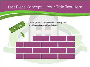 Green House Model PowerPoint Templates - Slide 46