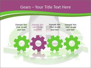 Green House Model PowerPoint Templates - Slide 48