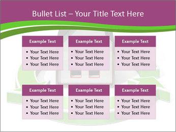 Green House Model PowerPoint Templates - Slide 56