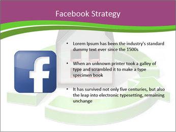 Green House Model PowerPoint Templates - Slide 6