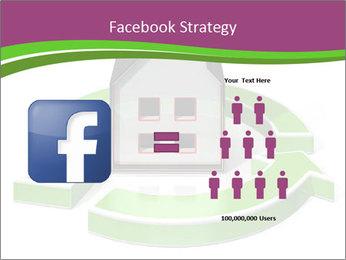 Green House Model PowerPoint Templates - Slide 7