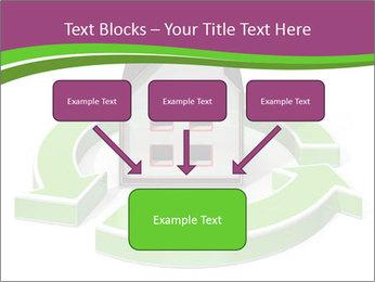 Green House Model PowerPoint Templates - Slide 70