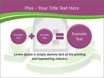 Green House Model PowerPoint Templates - Slide 75