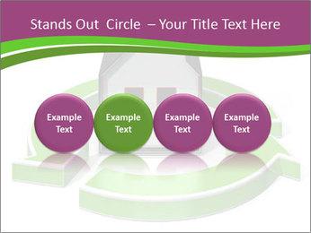 Green House Model PowerPoint Templates - Slide 76