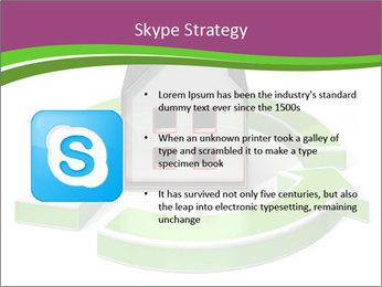 Green House Model PowerPoint Templates - Slide 8