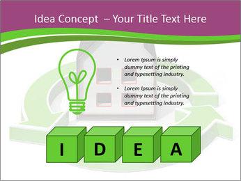 Green House Model PowerPoint Templates - Slide 80
