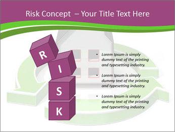 Green House Model PowerPoint Templates - Slide 81