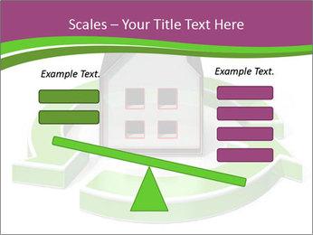Green House Model PowerPoint Templates - Slide 89