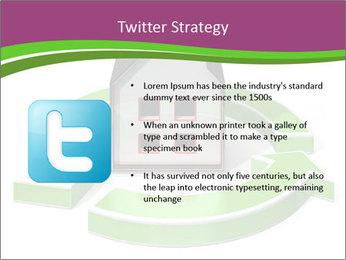 Green House Model PowerPoint Templates - Slide 9