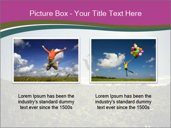 Man Jumping In Field PowerPoint Templates - Slide 18