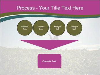 Man Jumping In Field PowerPoint Templates - Slide 93