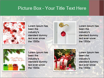 Christmas Star PowerPoint Template - Slide 14