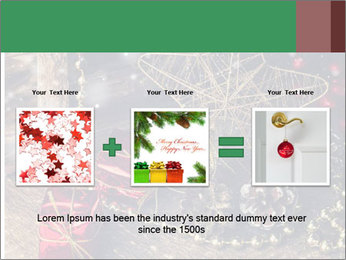 Christmas Star PowerPoint Template - Slide 22