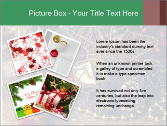 Christmas Star PowerPoint Template - Slide 23