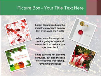Christmas Star PowerPoint Template - Slide 24