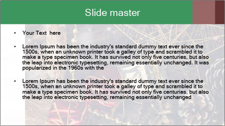 Christmas Star PowerPoint Template - Slide 2