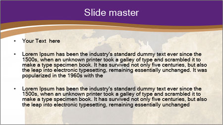 Antique Wall PowerPoint Template - Slide 2