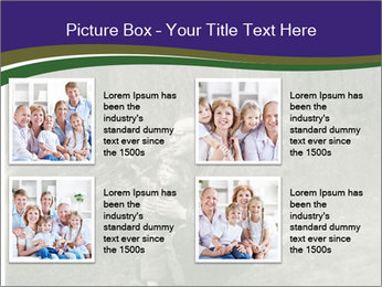 Father And Child In Forest PowerPoint Template - Slide 14
