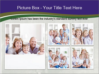 Father And Child In Forest PowerPoint Template - Slide 19