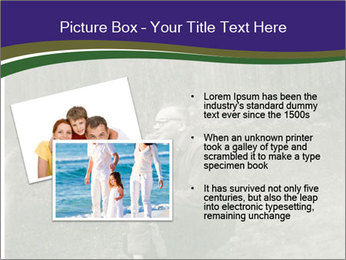 Father And Child In Forest PowerPoint Template - Slide 20