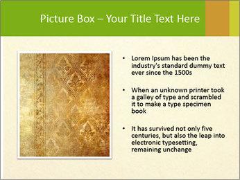 Golden Surface PowerPoint Template - Slide 13