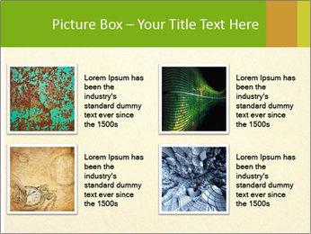 Golden Surface PowerPoint Template - Slide 14
