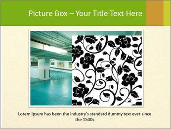 Golden Surface PowerPoint Template - Slide 15
