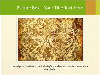 Golden Surface PowerPoint Template - Slide 16
