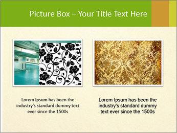 Golden Surface PowerPoint Template - Slide 18