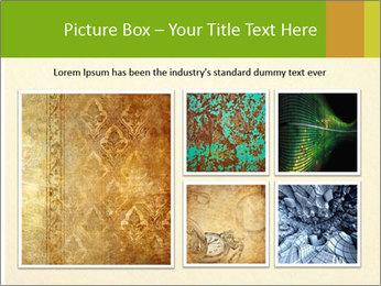 Golden Surface PowerPoint Template - Slide 19