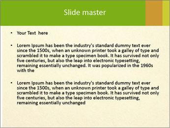 Golden Surface PowerPoint Template - Slide 2