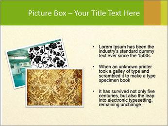 Golden Surface PowerPoint Template - Slide 20