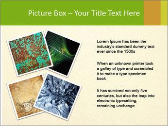 Golden Surface PowerPoint Template - Slide 23
