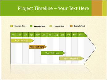 Golden Surface PowerPoint Template - Slide 25