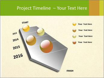 Golden Surface PowerPoint Template - Slide 26