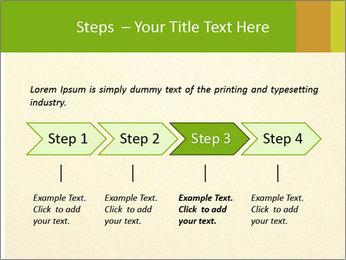 Golden Surface PowerPoint Template - Slide 4