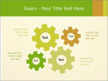 Golden Surface PowerPoint Template - Slide 47