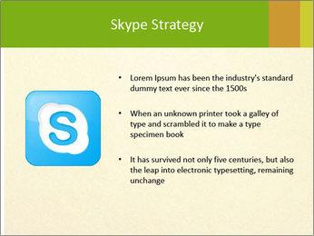 Golden Surface PowerPoint Template - Slide 8