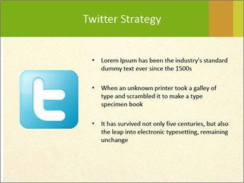 Golden Surface PowerPoint Template - Slide 9