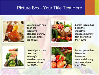 Slim Woman Vegetarian PowerPoint Templates - Slide 14