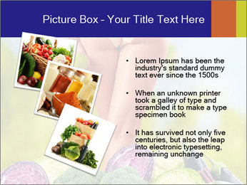 Slim Woman Vegetarian PowerPoint Templates - Slide 17