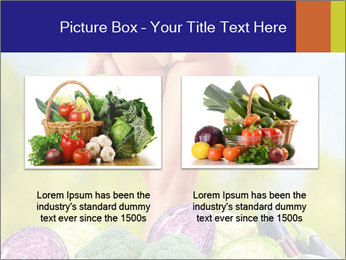 Slim Woman Vegetarian PowerPoint Templates - Slide 18