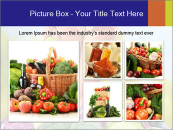 Slim Woman Vegetarian PowerPoint Templates - Slide 19